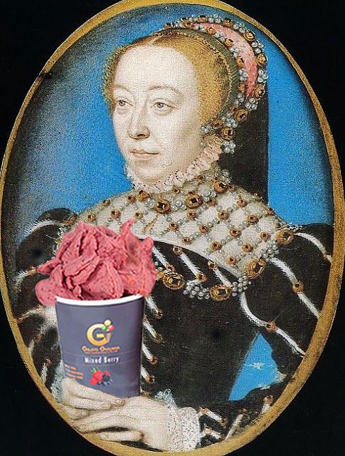 Catherine de Medici with Gelato GIuliana