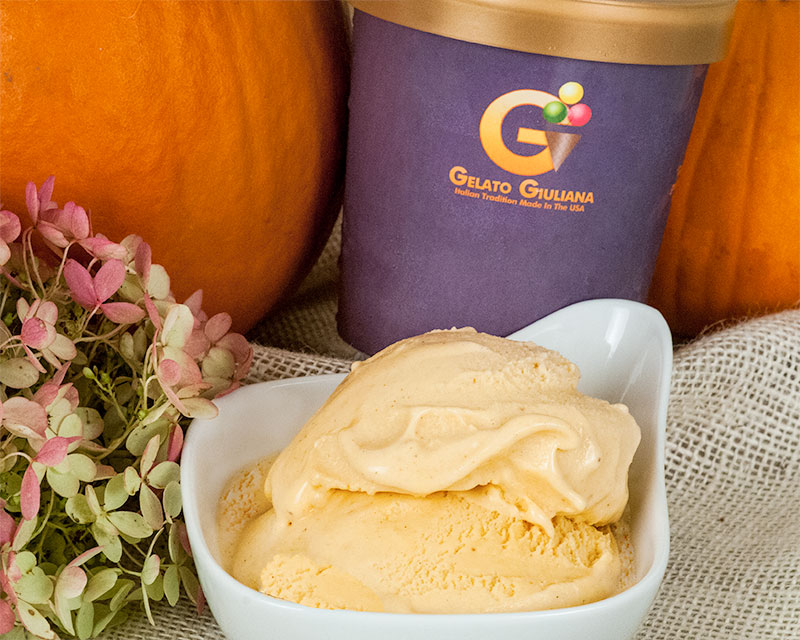 Pumpkin Spice Gelato Giuliana